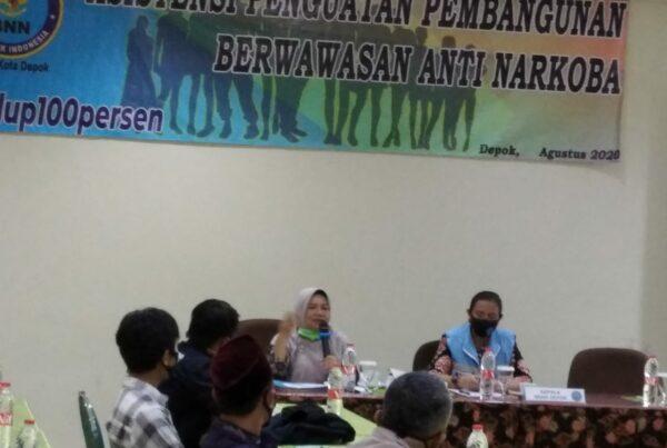 Asistensi dalam rangka pembangunan berwawasan anti narkoba di wilayah Kota Depok