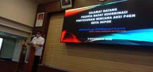 Rakor Penyusunan Rencana Aksi P4GN Kota Depok