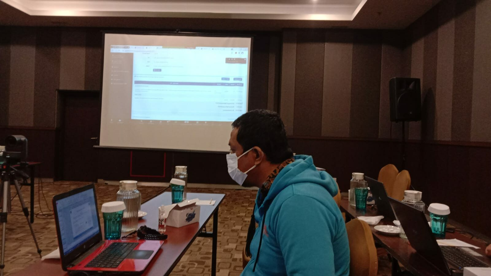 Pembahasan pedoman penyusunan laporan PNBP BNN